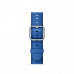 Pasek do Apple Watch 38mm Electric Blue Classic Buckle
