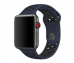 Pasek do Apple Watch 42mm Obsidian/Black Nike Sport Band - S/M & M/L